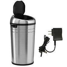iTouchless Sensor NX Trashcan, Stainless Steel (23 gal)