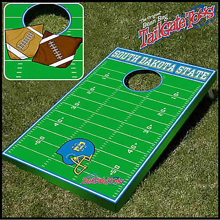 Collegiate Bean Bag Toss- South Dakota State