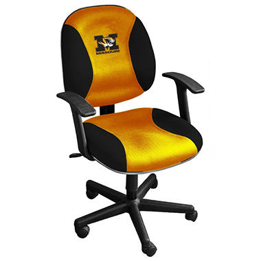 MICHIGAN WOLVERINES TASK CHAIR W/ARMS