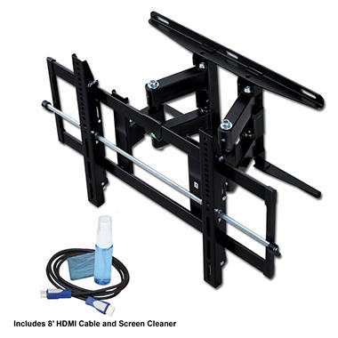 Ready Set Mount Full Motion Wall Mount Bundle - 26