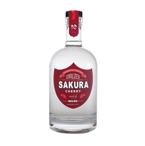 Civilized Spirits Sakura Cherry Vodka (750 ml)