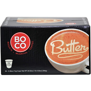 Boquete Mountain Coffee, Butter Blend Single Serve Cups (54 ct.)