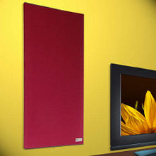 "Acoustic Panels - 24"" x 40"" - 4 pk. - Burgundy"