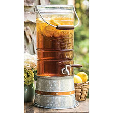 TapRoom Glass Beverage Dispenser (2.5 Gal.)