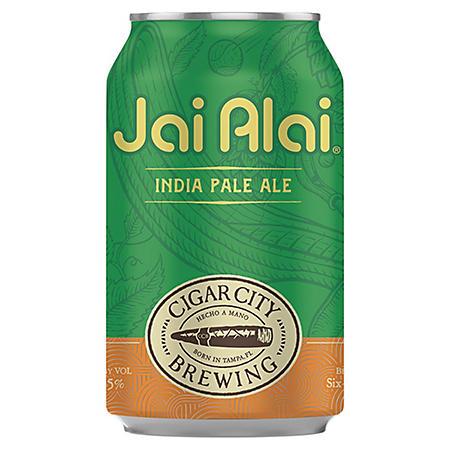 Cigar City Jai Alai India Pale Ale (12 fl. oz. can, 6 pk.)