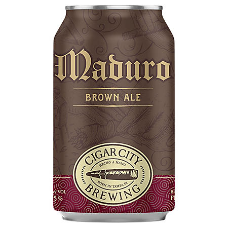 CCB MADURO BROWN 6 / 12 OZ CANS