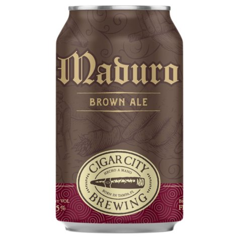 Cigar City Maduro Brown Ale (12 fl. oz. can, 6 pk.)