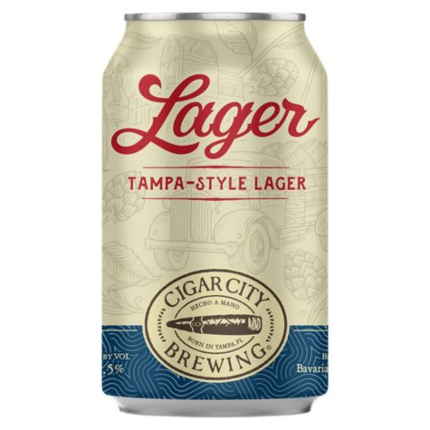 Cigar City Tampa-Style Lager (12 fl. oz. can, 6 pk.)