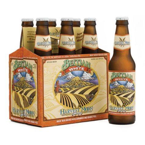 Harvest Moon Beltian White Spiced Beer (12 fl. oz. bottle, 6 pk.)