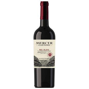 Mercer Canyons Red Blend (750 ml)