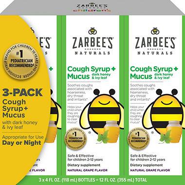 Children S Mucus Cough Natural Medicine