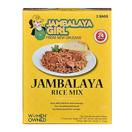 Jambalaya Girl Jambalaya Rice Mix (20 oz. bag, 2 ct.)