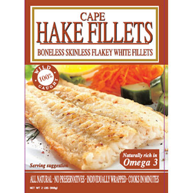 Ocean Fresh Cape Hake Fillets - 2 lbs.