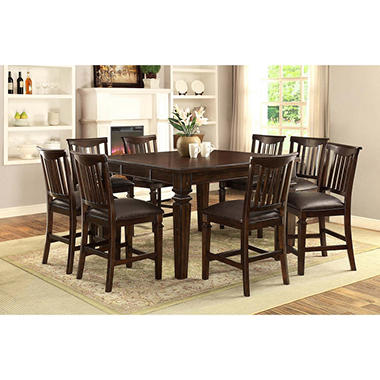 vanderhill 9 piece dining set - sam's club