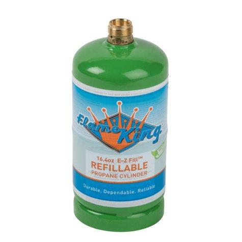 1-lb. Refillable Propane Cylinder, 16.4 oz. (ships empty)