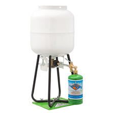 1-lb. Refillable Propane Cylinder with Refill Adapter and Stand Kit (ships empty)