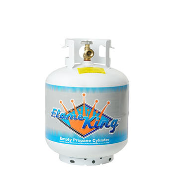 20-lb. Propane Cylinder with Type 1 Overfill Protection Device Valve (Ships Empty)