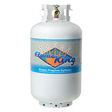 30-lb. Propane Cylinder with Overfill Protection Device Valve (Ships Empty)