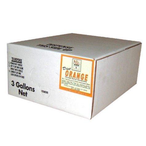OFFLINE-Diet Orange Syrup Concentrate (3 gal.)