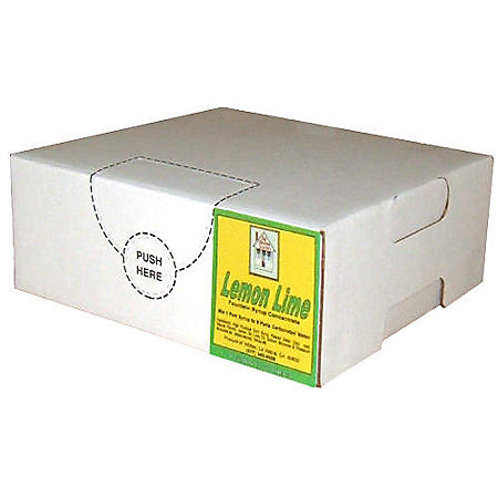 Willtec Lemon Lime Bag in Box Syrup (1 gal. Box)