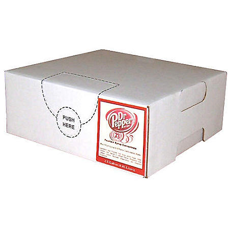 Dr Pepper Bag In Box Syrup (1 gal. box)