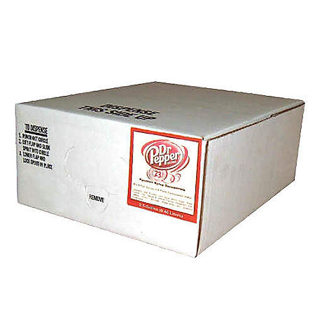 Dr Pepper Bag in Box Soda Syrup Concentrate (2.5 gal.)