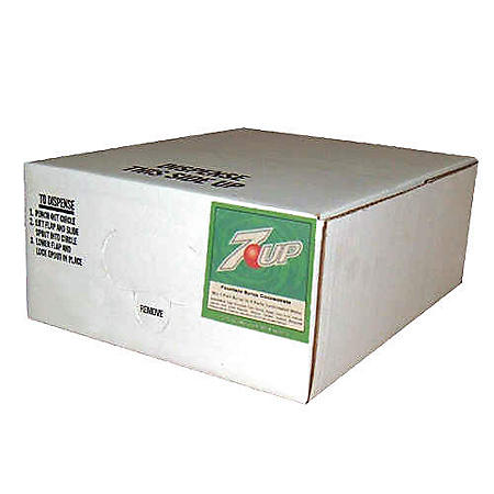 Willtec 7-UP Bag In Box Soda Syrup Concentrate (2.5 gal. box)
