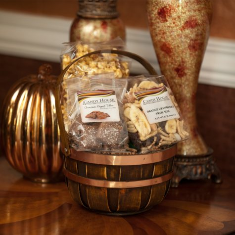 "Candy House ""Crunchy Treats"" Gourmet Snack Basket"