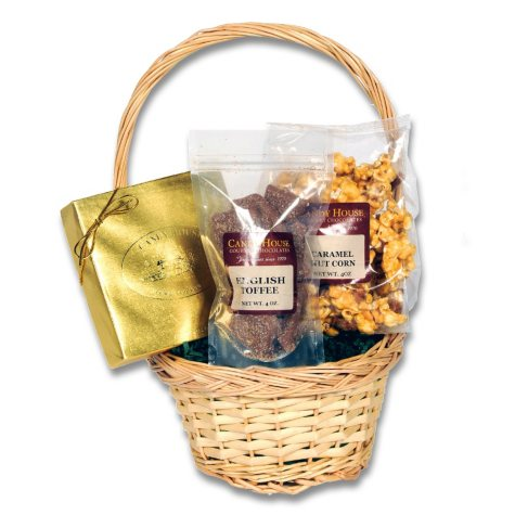 "Candy House ""Divine"" Basket of Chocolates"