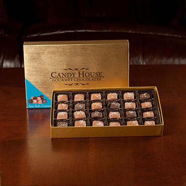 Candy House Sea Salt Caramel Assortment - 24 pcs.