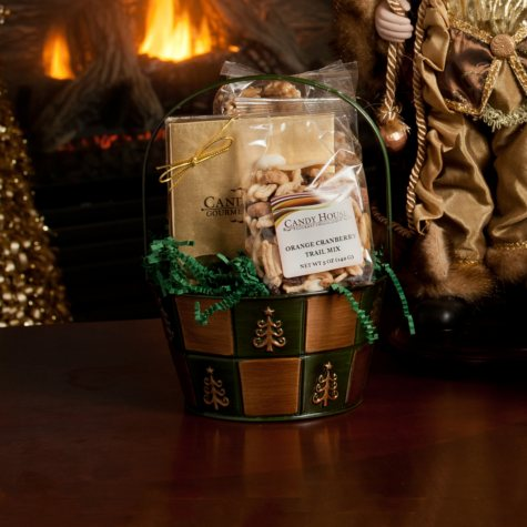 """Candy House """"Jolly Holiday"""" Basket of Chocolates"""