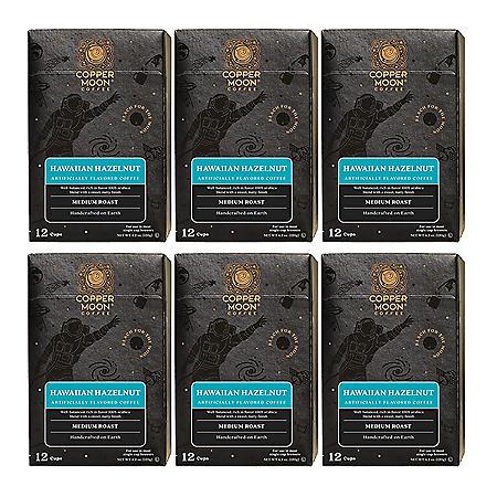 Copper Moon Coffee Single-Serve Cups, Hawaiian Hazelnut (72 ct.)