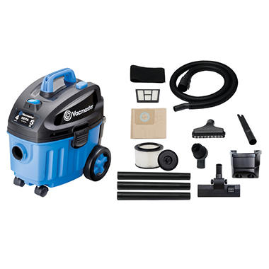 Vacmaster Household Wet/Dry Vacuum - 5 Peak HP - 4 Gal