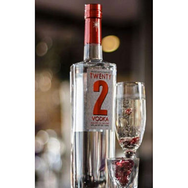 +TWENTY 2 VODKA 750ML