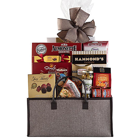 Connoisseur Gift Basket (Various Colors)