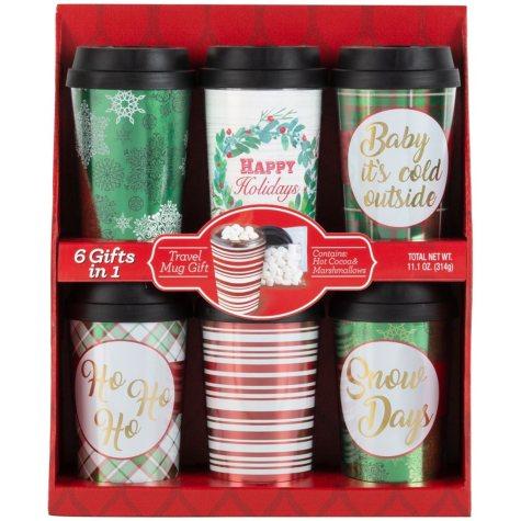 Wine Country Gift Baskets Travel Mug Gift Set (Various Colors)