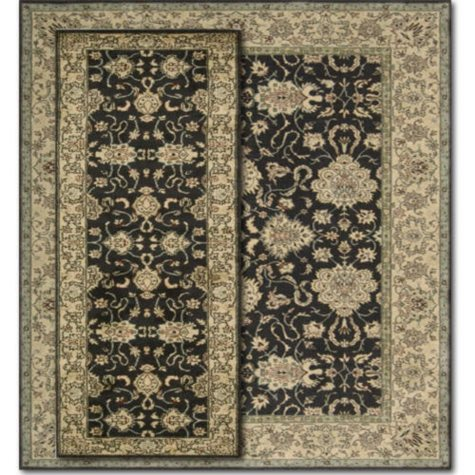 Nourison Indira Midnight 2 Rug Set - 7'x10', 2'x8'