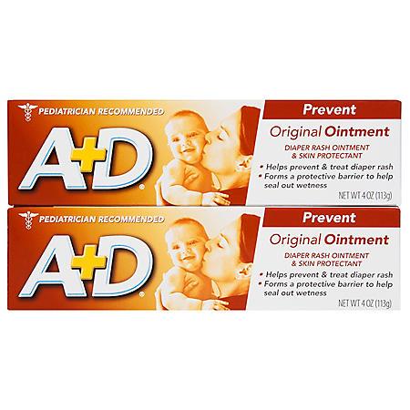 A+D Baby Ointment - 4 oz. - 2 pk.