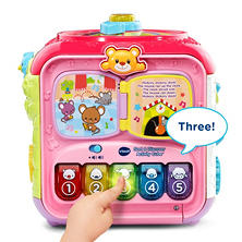 VTech Sort & Discover Activity Cube Pink