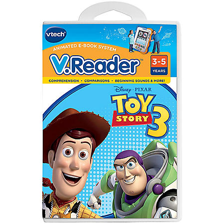 V.Reader Interactive E-Reading System Software Cartridge - Toy Story 3