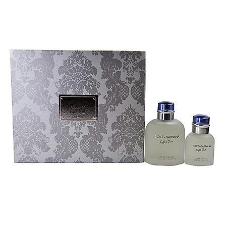 Dolce & Gabbana Light Blue Pour Homme 2-Piece Gift Set for Men