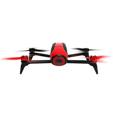Parrot Bebop 2 Red with Extra Battery and Backpack