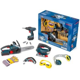Bosch Large Toy Power Tools, 14-Piece Set