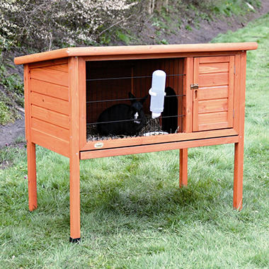 Trixie 1-Story Rabbit Hutch, Medium (40.75