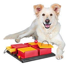 "Trixie Poker Box Activity for Dogs, Intermediate (12"" x 12"")"