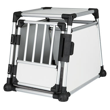 Trixie Scratch-Resistant Metallic Crate, Medium (21.5