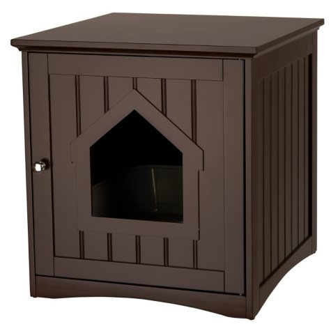 Trixie Wooden Cat Home and Litter Box (Choose Your Color)