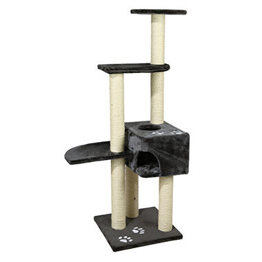 Trixie Alicante Cat Tree, Gray (17.5