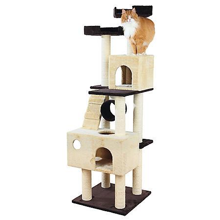 "Trixie Mariela Cat House (22"" x 22"" x 69.25"")"