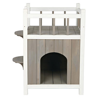 Trixie Wooden Pet Home with Balcony (17 ½